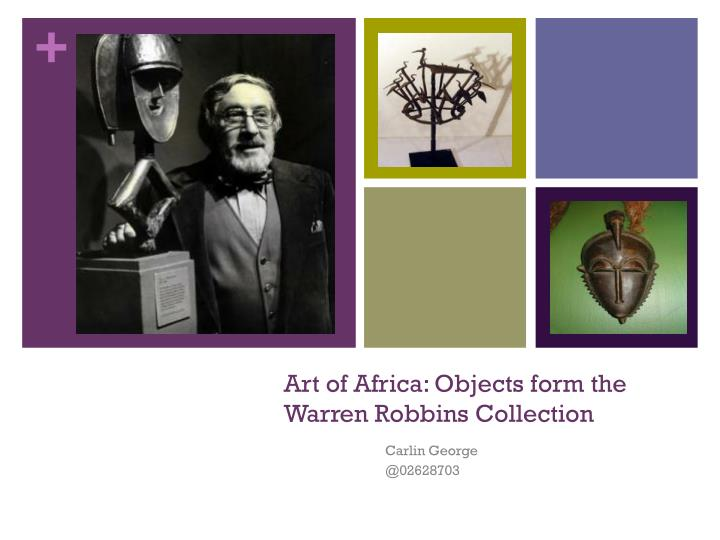 art of africa objects form the warren robbins collection n.