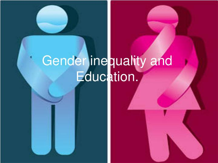 gender inequality and education n.