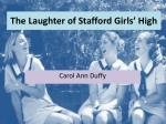 The Laughter of Stafford Girls' High