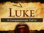 A Compassionate Call to Discipleship