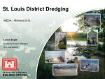 St. Louis District Dredging