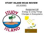 STUDY ISLAND MCAS REVIEW LIFE SCIENCE