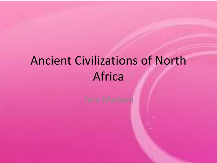 ancient civilizations of north africa n.