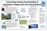 Connecting Campus Sustainability at Macalester College with the United Nations