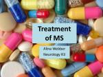 Treatment of MS