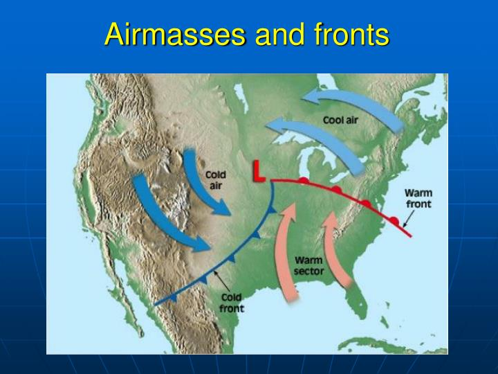 airmasses and fronts n.