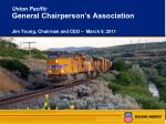 Union Pacific General Chairperson's Association