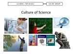 Culture of Science