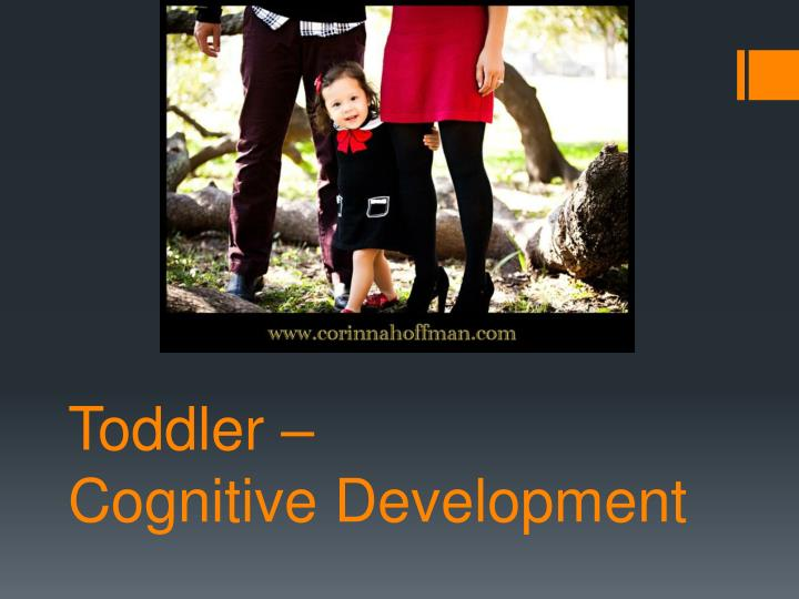 toddler cognitive development n.