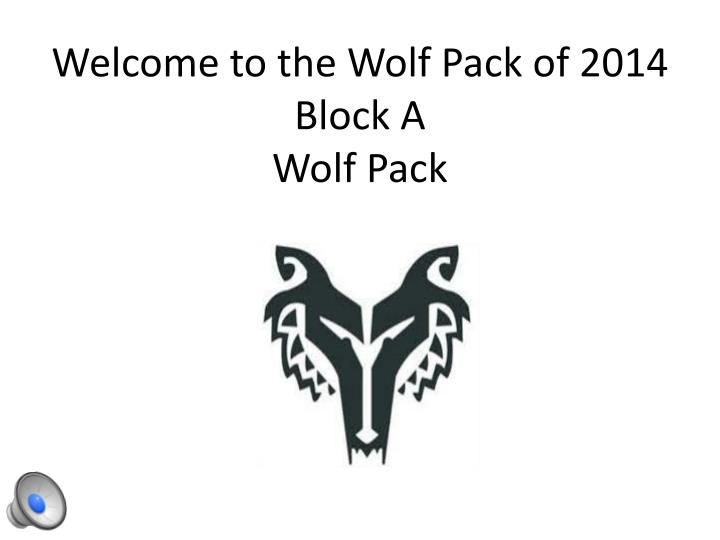 welcome to the wolf pack of 2014 block a wolf pack n.