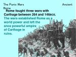 The Punic Wars Ancient Rome