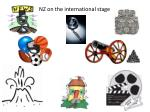 NZ on the international stage