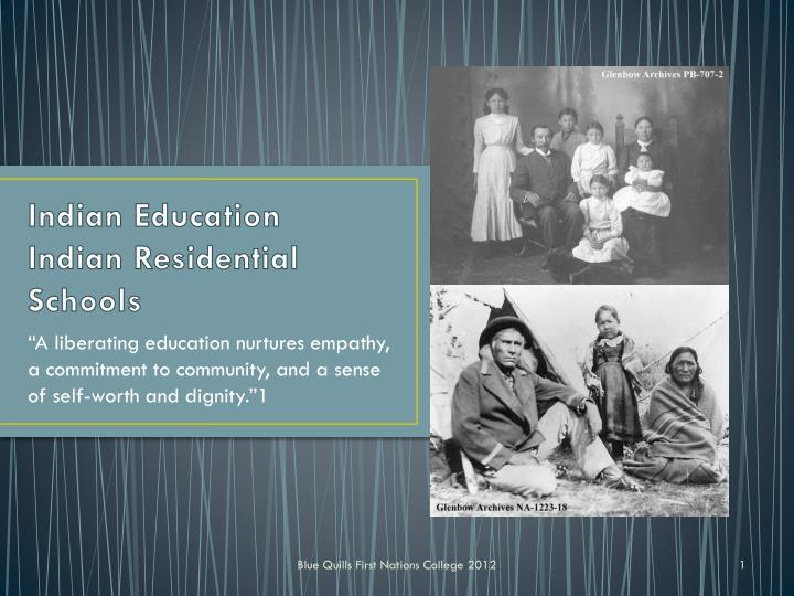 indian education indian residential schools n.