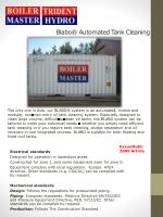 Blabo® Automated Tank Cleaning
