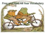 Frog and Toad All Year Vocabulary