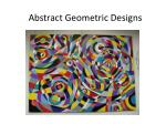 Abstract Geometric Designs