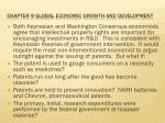 Chapter 9  Global economic growth and development