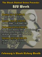 The Black Student Union Presents:  BSU Week