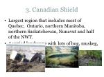 3. Canadian Shield