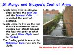 St Mungo and Glasgow's Coat of Arms