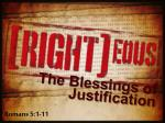 The Blessings of Justification