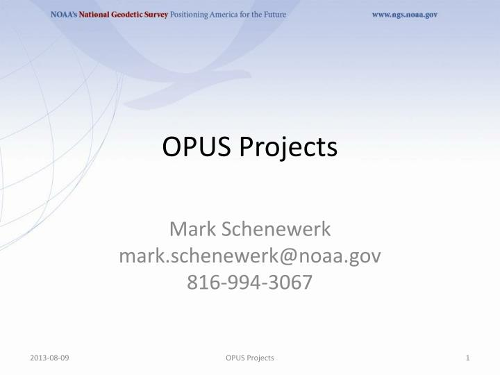 opus projects n.