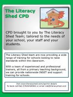 The Literacy Shed CPD