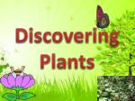 Discovering Plants