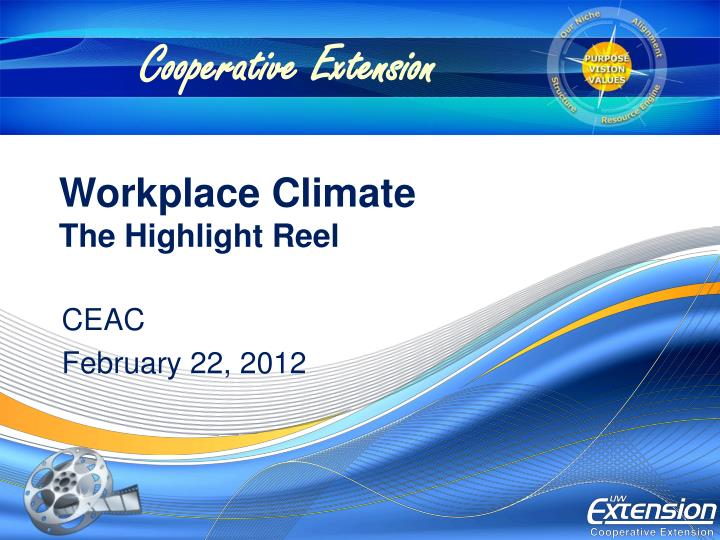 workplace climate the highlight reel n.