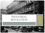 Social impact of the Industrial Revolution