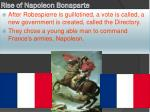 Rise of Napoleon Bonaparte
