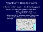 Napoleon's Rise to Power