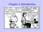 Chapter 1, Introduction