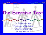 The Exercise Test