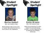 Marlee Gaskell Mrs. Ash-Conklin's Class