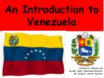 An Introduction to Venezuela