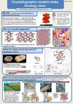 Crystallographic models make Geology clear