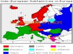 THE LANGUAGES OF EUROPE
