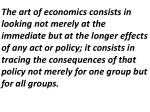 Economics The study of the allocation of scarce resources that have alternative uses.