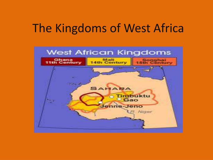 the kingdoms of west africa n.