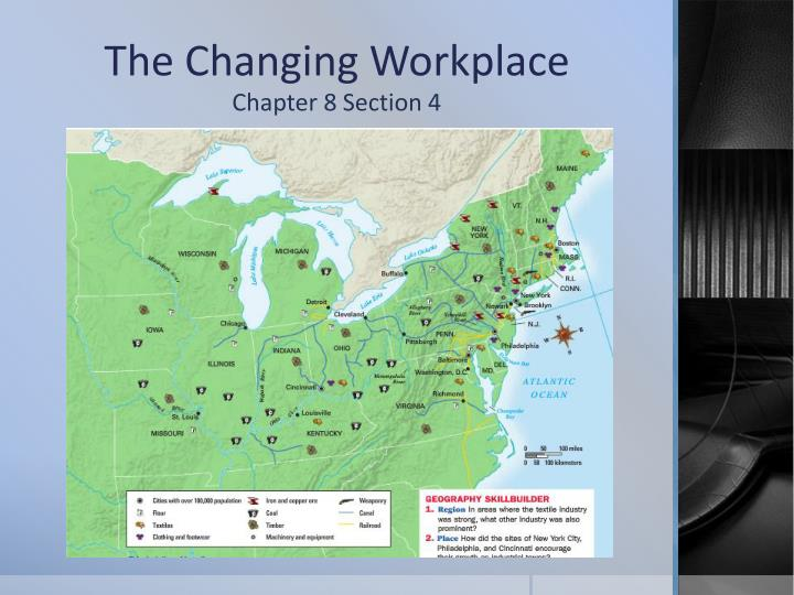 the changing workplace n.