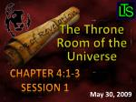 Chapter 4:1-3 Session 1