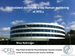 Stimulated electronic x-ray Raman scattering at XFELs