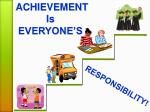 ACHIEVEMENT Is EVERYONE'S