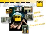SITEC  Security - all from one source