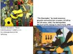 """Romare Bearden's """"Three Folk Musicians"""" (1967), is in his retrospective at the Whitney."""