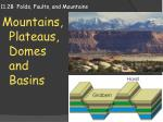 11.2B  Folds, Faults, and Mountains