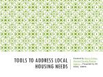 Tools to Address Local Housing Needs