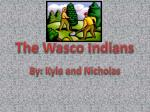 The Wasco Indians