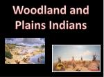 Woodland and Plains Indians